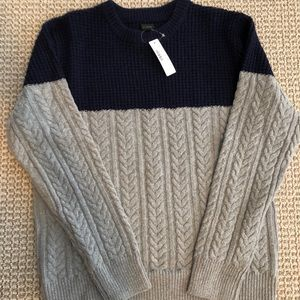 NWT jcrew merino wool knit sweater